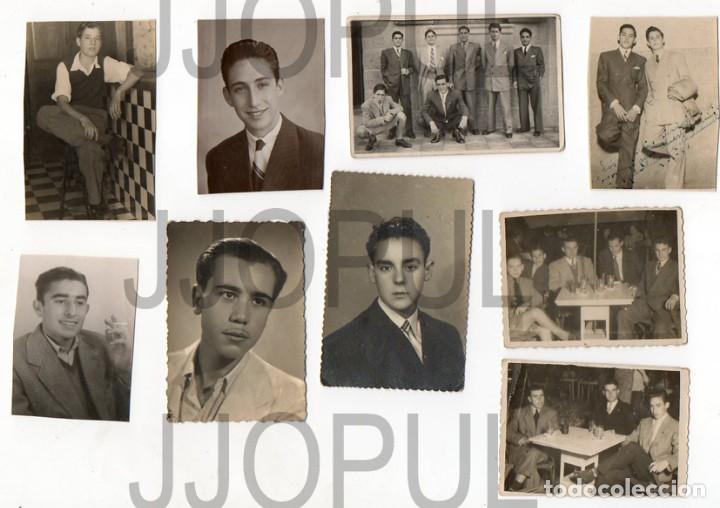 Fotografía antigua: FALANGE. FRENTE DE JUVENTUDES. UNIFORME. LOTE DE 22 FOTOGRAFIAS. AÑOS 40 - Foto 2 - 69847061