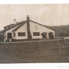 Fotografía antigua: SAN SEBASTIÁN, EL GOLF. 1910 APROX. FOTO: RICARDO MARTÍN, PHOTO-CARTE. 16X22 CM.. Lote 70355009