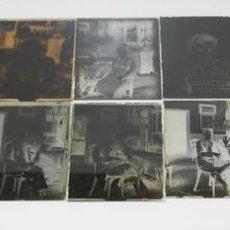 Fotografía antigua: LOTE DE 13 NEGATIVOS EN CRISTAL DE FOTOS ANTIGUAS. PRINCIPIOS DE SIGLO XIX.. Lote 70850793
