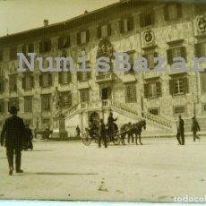 Fotografía antigua: NEGATIVO PLACA CRISTAL - GELATINO BROMURO DE ARGENTA - 9 X 12 CM. - AÑO 1910 - PALACIO O SIMILAR. Lote 71622919
