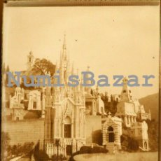 Fotografía antigua: NEGATIVO PLACA CRISTAL - GELATINO BROMURO DE ARGENTA - 9 X 12 CM. - AÑO 1910 - SIN DETERMINAR. Lote 71625547