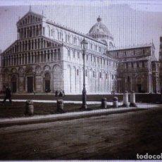 Fotografía antigua: FOTOGRAFIA PLACA POSITIVA EN CRISTAL - GELATINO BROMURO DE ARGENTA - 9 X 12 CM. - AÑO 1910 +/- PISA. Lote 71917019
