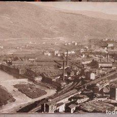 Fotografía antigua: COMPAÑÍA ANÓNIMA BASCONIA, BASAURI (BILBAO) GRAN FOTOGRAFÍA 1940'S. 61X100CM.B FOTO: LUX. Lote 73225595
