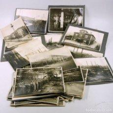 Fotografía antigua: COMPAÑÍA ANÓNIMA BASCONIA, BASAURI (BILBAO) LOTE DE 26 FOTOGRAFÍAS DE 1920'S. APROX. 17X23 CM. VER. Lote 73681967