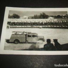 Fotografía antigua: MADRID MANIOBRAS EN PLAZA DE TOROS FOTOGRAFIA AÑOS 40. Lote 73713363