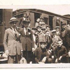 Fotografia antica: BUÑOL (VALENCIA). ESTACIÓN DE FERROCARRIL. 5-5-1929. Lote 74727555