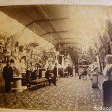 Fotografía antigua: FOTO- SALÓN DE BELLAS ARTES- EXPOSICIÓN CONTINENTAL-BUENOS AIRES 1882. Lote 76182135