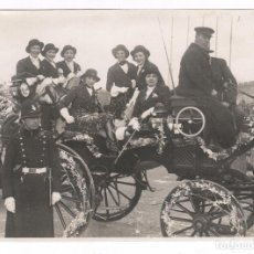 Fotografía antigua: BARCELONA, CARNAVAL DE 1931, 2º PREMIO, FOTOGRAFÍA: ALEJANDRO MERLETTI, BARCELONA. 13X18CM.. Lote 76849979