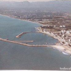 Fotografía antigua: GRAN FOTOGRAFIA AEREA, PUERTOS, CAMBRILS, TARRAGONA, PAISAJES ESPAÑOLES, 37,5 X 27,5 CM. Lote 77985641