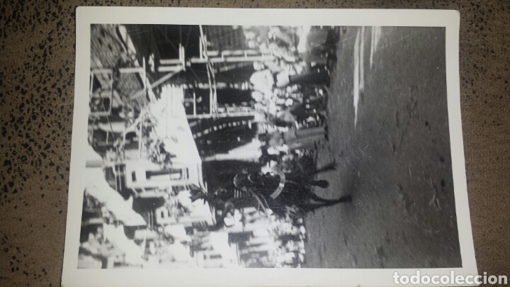 Fotografía antigua: ALCOY. MOROS Y CRISTIANOS. LA ENTRADA. AÑOS 60. 6 FOTOS - Foto 5 - 78252658