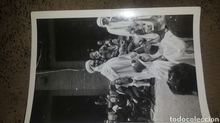 Fotografía antigua: ALCOY. MOROS Y CRISTIANOS. LA ENTRADA. AÑOS 60. 6 FOTOS - Foto 6 - 78252658
