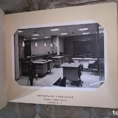 Photographie ancienne: VALENCIA. ALBUM RECUERDO DE LAS NUEVAS OFICINAS DEL GREMIO DE HORNEROS. AÑOS 60. Lote 79787017