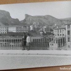 Fotografía antigua: FOTOGRAFIA DE ALCOY, ALICANTE, MEDIDAS: 12 X 8,5 CM. Lote 80935124