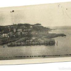 Fotografía antigua: FOTO ORIGINAL BERMEO PUERTO BARCAS EUSKADI PAIS VASCO AÑO 1921 - 6X4 CM. Lote 82039580