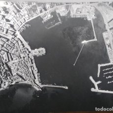 Fotografía antigua: GRAN FOTOGRAFIA AEROPOST, PAISAJES ESPAÑOLES, IBIZA, BALEARES, 40 X 31. Lote 83678544