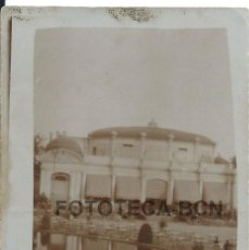 Fotografía antigua: FOTO ORIGINAL BAR RESTAURANTE TERRAZA POSIBLEMENTE PARQUE DE MONTJUIC MONTJUICH BARCELONA AÑOS 20/30. Lote 85541920