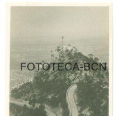 Fotografía antigua: FOTO ORIGINAL CREU DEL PICOT VISTA DESDE SANTUARIO SANT SALVADOR DE FELANITX MALLORCA AÑO 1933. Lote 86418952