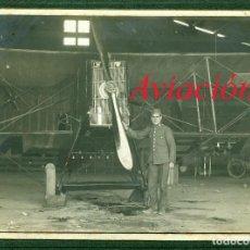 Fotografía antigua: AVIACIÓN - ESPAÑA - 1918 . Lote 86456008