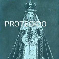 Fotografía antigua: ANTIGUA FOTOGRAFIA DE NUESTRA SEÑORA DE ALTAMIRA PATRONA DE MIRANDA DE EBRO BURGOS. Lote 87087092