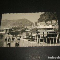 Fotografía antigua: SAN SEBASTIAN EL PUERTO FOTOGRAFIA AÑOS 50. Lote 87680336