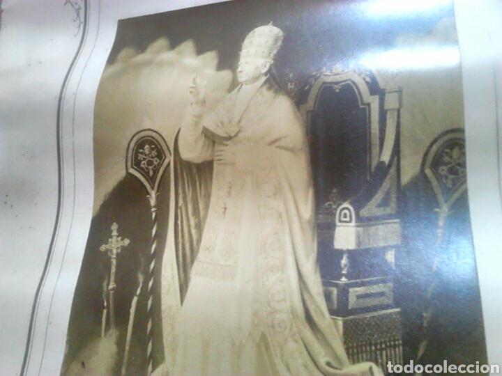 Fotografía antigua: Antiguo documento y foto,,vaticano del año 1.900,ideal coleccionistas - Foto 7 - 88842115