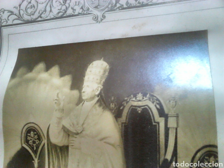 Fotografía antigua: Antiguo documento y foto,,vaticano del año 1.900,ideal coleccionistas - Foto 8 - 88842115