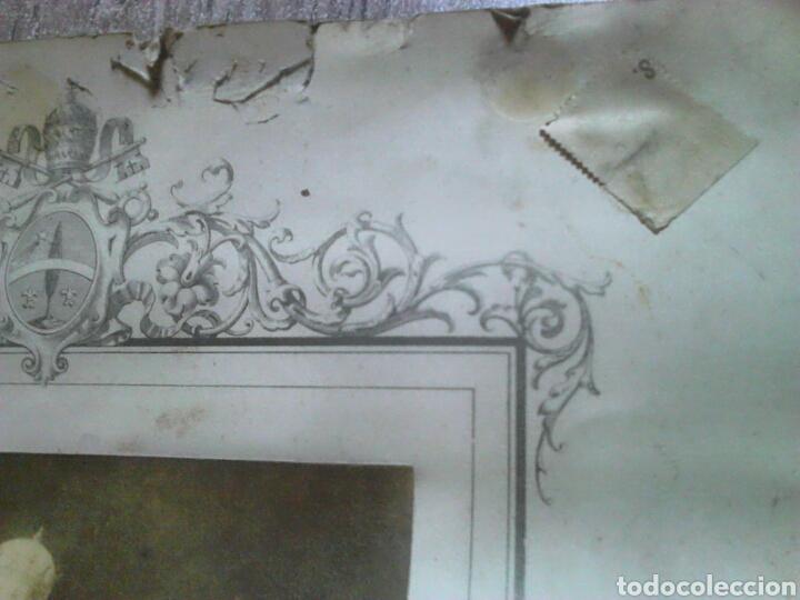 Fotografía antigua: Antiguo documento y foto,,vaticano del año 1.900,ideal coleccionistas - Foto 9 - 88842115