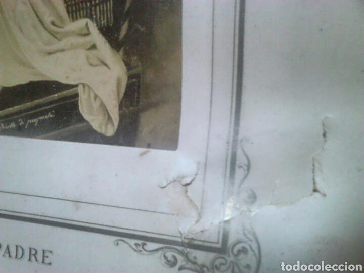 Fotografía antigua: Antiguo documento y foto,,vaticano del año 1.900,ideal coleccionistas - Foto 11 - 88842115