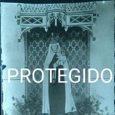 Fotografía antigua: ANTIGUA FOTOGRAFIA DE NUESTRA SEÑORA DEL CARMEN DE ANCIN NAVARRA. Lote 88865324