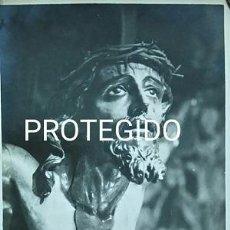 Fotografía antigua: ANTIGUA FOTOGRAFIA DEL SANTISIMO CRISTO DE LAS MISERICORDIAS PARROQUIA DE SANTA CRUZ DE SEVILLA. Lote 88865684