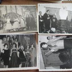 Fotografía antigua: GRAN COLECCION 32 FOTOS 17,5 X 12 CM. PASE MODELOS SEÑORAS ALTA SOCIEDAD PONTEVEDRA, FOTO RODRIGUEZ. Lote 90673135