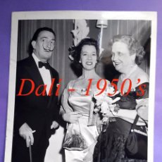 Fotografía antigua: DALÍ - NEW YORK - 1950'S - FOTOGRAFIA INTERNATIONAL NEWS PHOTOS. Lote 91699020