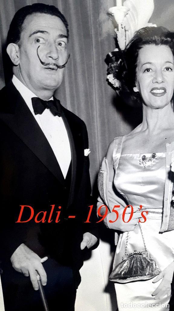 Fotografía antigua: DALÍ - NEW YORK - 1950S - FOTOGRAFIA INTERNATIONAL NEWS PHOTOS - Foto 3 - 91699020