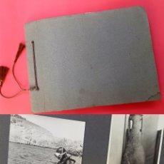 Fotografía antigua: ÁLBUM COSTA BRAVA - ARQUEOLOGIA - L'ESTARTIT - ISLAS MEDES - ÁLBUM FOTOGRÁFICO - 1960'S. Lote 93268890