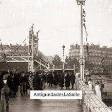 Fotografía antigua: PARÍS. HACIA 1900. CRISTAL NEGATIVO 9X12 CM.. Lote 93786865