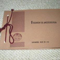 Fotografía antigua: V REUNIÓN DE ANESTESIOLOGÍA. LABORATORIOS ABELLÓ. SANTANDER JULIO DE 1961, ÁLBUM CON 9 FOTOS. Lote 94075430