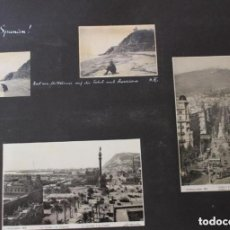 Fotografía antigua: BARCELONA 1931 11 FOTOGRAFIAS Y POSTALES POR VIAJERO ALEMAN SAGRADA FAMILIA . Lote 94116450