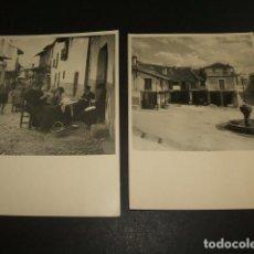 Fotografía antigua: GUADALUPE CACERES 5 FOTOGRAFIAS AÑOS 40 8,5 X 12,5 CMTS . Lote 94163250