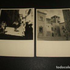 Fotografía antigua: CACERES 8 FOTOGRAFIAS AÑOS 40 8,5 X 11,5 CMTS . Lote 94163450