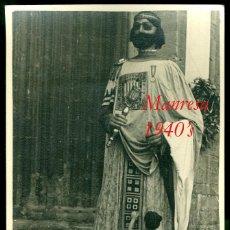 Fotografía antigua: MANRESA - GEGANT - 1940'S. Lote 95705495