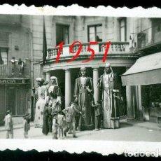 Fotografía antigua: LA PATUM - BERGA - 1951 - 2 FOTOGRAFIAS . Lote 95705675