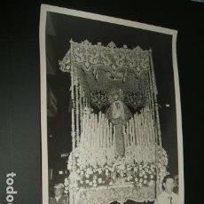 Fotografía antigua: JEREZ DE LA FRONTERA CADIZ SEMANA SANTA NUESTRA SEÑORA DE LA SOLEDAD 12 X 18 CMTS. Lote 96532599