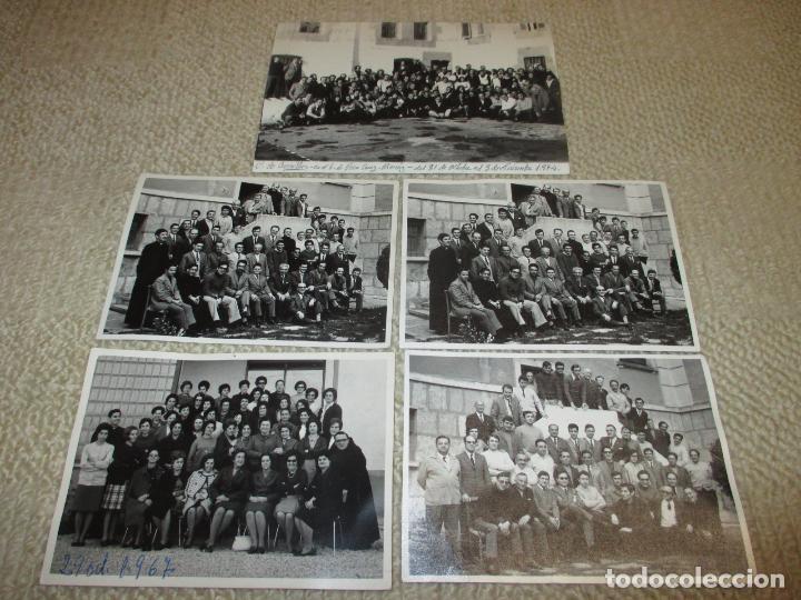 LOTE 5 FOTOGRAFÍAS DE CURSILLOS DE CRISTIANDAD, BURGOS AÑOS 60 Y 70, FOTO MIGUEL (Fotografía Antigua - Gelatinobromuro)