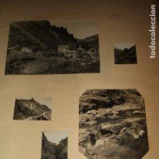 Fotografía antigua: SIERRA NEVADA GRANADA 30 FOTOGRAFIAS TRANVIA ELECTRICO CENTRAL ELECTRICA 1930 POR VIAJERO ALEMAN. Lote 97697643