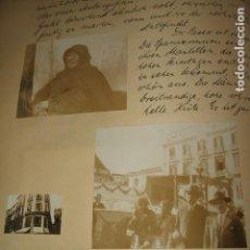 Fotografía antigua: MALAGA 11 FOTOGRAFIAS 1930 POR VIAJERO ALEMAN. Lote 97698699
