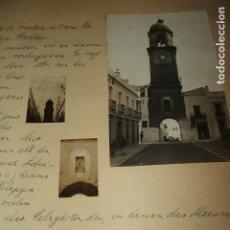 Fotografía antigua: CHICLANA DE LA FRONTERA CADIZ 6 FOTOGRAFIAS 1930 POR VIAJERO ALEMAN. Lote 97699119