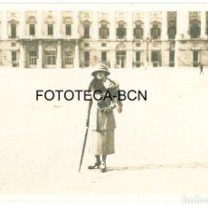 Fotografía antigua: FOTO ORIGINAL PALACIO REAL MADRID - MAYO 1921 - 8X5,5 CM. Lote 97931839