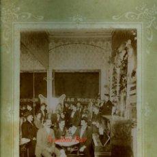 Fotografía antigua: BARCELONA - LONDON BAR - 1910 - 1920 - BARRIO CHINO - FOTOGRAFIA J. DE OLALDE. Lote 98645995