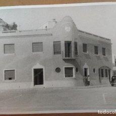 Fotografía antigua: AGUILAS, MURCIA, AÑOS 40/50, EDIFICIO PARA OFICINAS Y VIVIENDA EN EL PUERTO . Lote 99458659