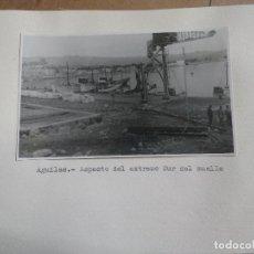 Fotografía antigua: FOTOGRAFIA SOBRE CARTON DE AGUILAS, MURCIA, AÑOS 40/50, VER PIE DE FOTO. Lote 99515771